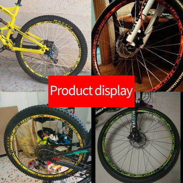 Продаю наклейки на обода велосипеда в стиле Mavic Deemax.Цвет желтый