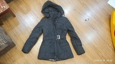 teplyj-puhovik-na-zimu в Кыргызстан: Куртка деми на подростка в отличном состоянии. цена 200 сом