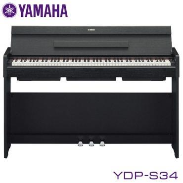 Пианино цифровое: Yamaha YDP-S34 - это 88-клавишное цифровое пианино с