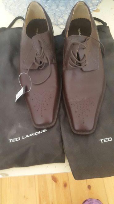 Bakı şəhərində Ted Lapidus fransiz markasinn kishi ayaqqabisi, oriqinaldi.