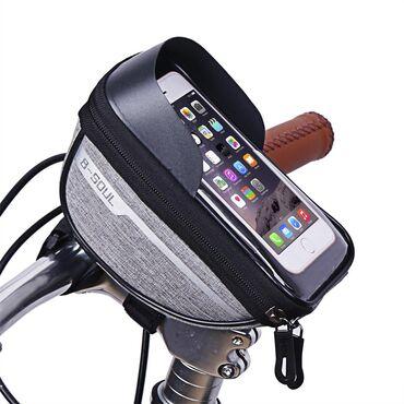 велосипед-3-в-1 в Кыргызстан: Чехол-держатель для телефона на руль велосипедаТолько оптом:от 100 шт