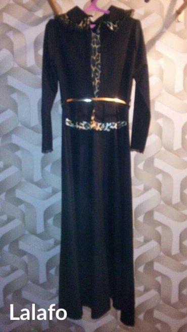 Платье хиджаб. Вечернее, черное с в Лебединовка
