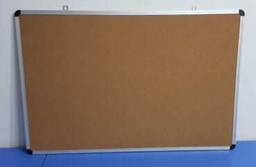Доски магнитно маркерная пробковая двусторонние - Кыргызстан: Пробковая доска, доска для объявлений. Металлический профиль. Высокое