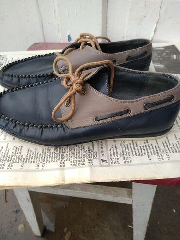 Детский мир - Ала-Тоо: Продаю кожаный подростковый туфли