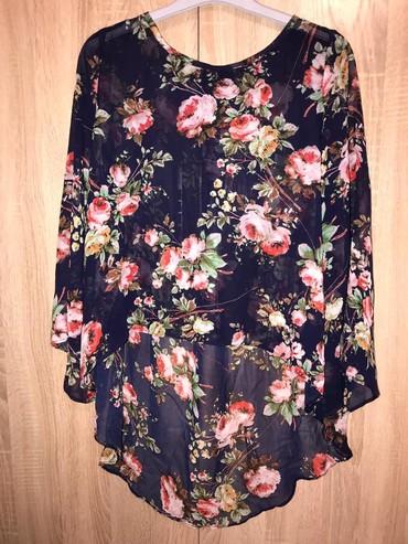 нарядные блузки в Кыргызстан: Нарядная блузка 46-48р с удлинённым задом ( обмен 400с)