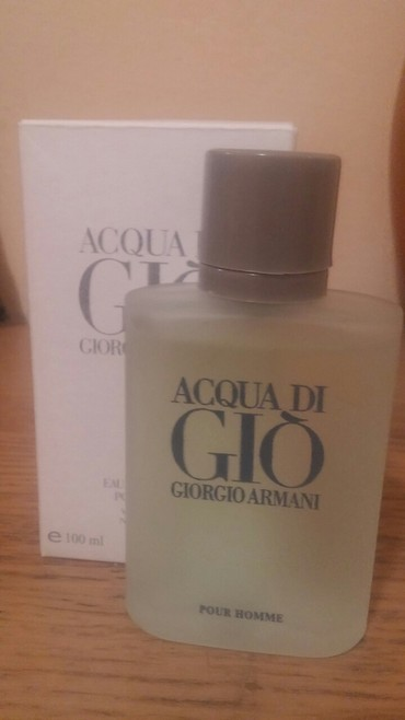 Acqua di gio EDT, 100ml - Zrenjanin