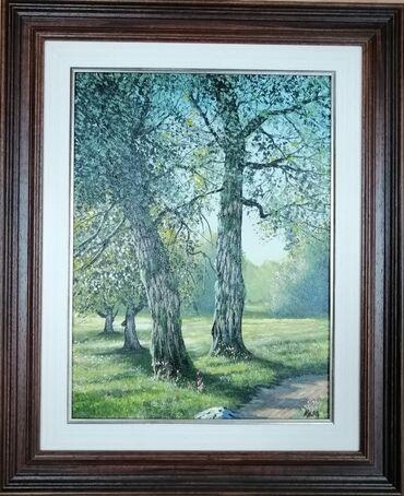 Autor slike Injac Aleksandar, ulje na platnu zategnuto na blind ram