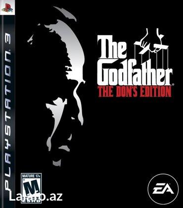 """Bakı şəhərində """"The Godfather: The Don's Edition"""" Ps3 diski"""