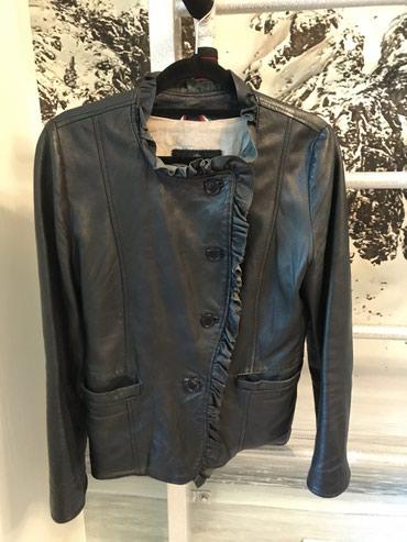 тёплую кожаную куртку в Кыргызстан: Продаж куртку кожаную из италии . Цена 1500