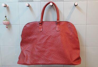 Τσάντα κόκκινη μεταχειρισμένη σε πολύ καλή κατάστασηΔιαστάσεις: πλάτος