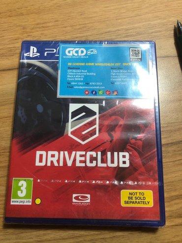 ps4 oyunlari - Azərbaycan: Driveclub. Sony PlayStation 4 oyunlarının və aksesuarlarinin zəmanətlə