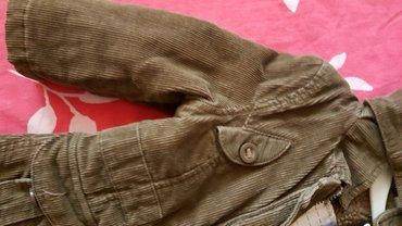 Jakna  braon decija somot jakna sa vunom unutra  novo - Pozarevac - slika 5