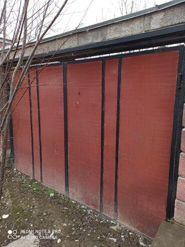 ворота на гараж в Кыргызстан: Ворота для гаража вместе с рамкой