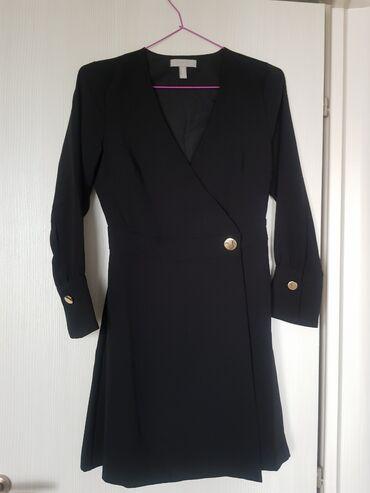 Φόρεμα h&m μαυρο εντελώς αφορετο σε άριστη κατάσταση