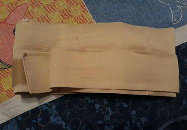 бондаж для беременных в Кыргызстан: Бондаж бежевый 40-42р.На маленький животик.300 сом.Бондаж