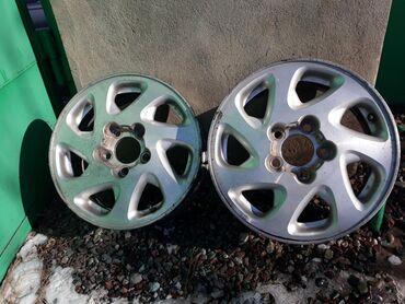 диски 19565 r15 в Кыргызстан: Продаются титановые диски в отличном состоянии R15 .Неваренные