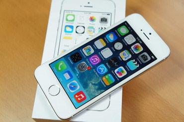Продаю Айфон5s. Цвет белый. Всё работает идеально! Коробка имеется! в Лебединовка