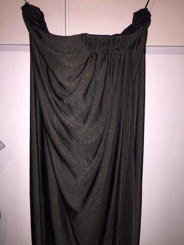 Jersey Drape Strapless φόρεμα Χρώμα κύατισί σε Rest of Attica