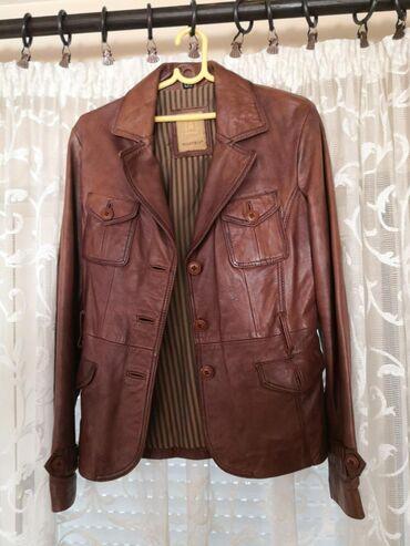 Kvalitetna kožna jakna L veličine, odlično stanje, bez ikakvih