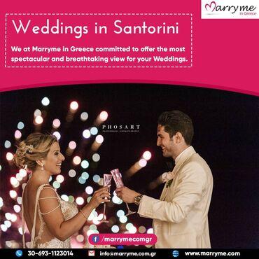 Υπηρεσίες - Ελλαδα: SANTORINI WEDDING PACKAGES - Explore our selection of the most