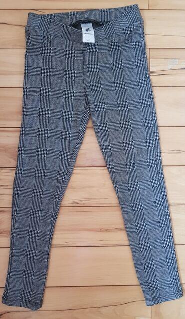 Dečija odeća i obuća - Nis: CA pantalone - helanke, puniji materijal, za devojcice, za 122 cm, vel
