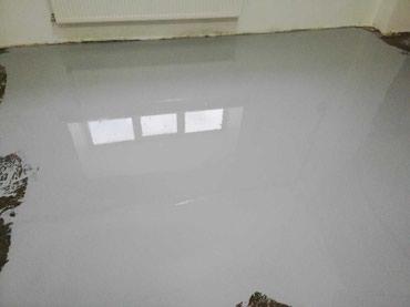 Самонивелирующий наливной пол. в Бишкек