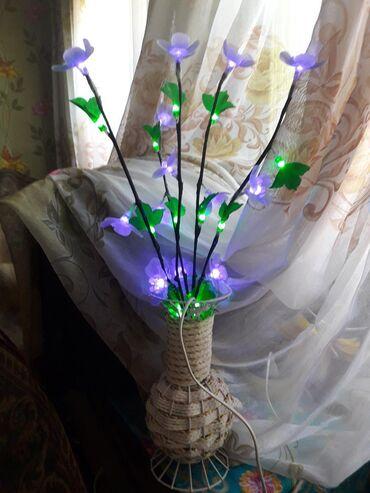 инверторы для солнечных батарей 80 500 в Кыргызстан: Светильник цветок 500 сом в хорошем состоянии