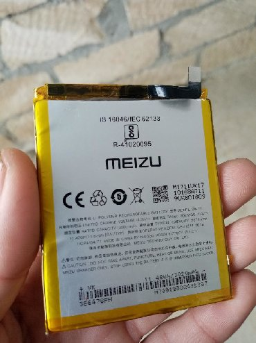 аккумуляторы для машины в Азербайджан: Meuzi M 6 telefonu üçün batareya üstən çixmadi arginaldi az işlənib