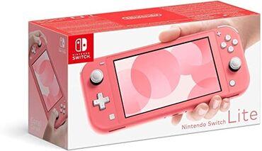 Nintendo Switch - Azərbaycan: Nintendo switch lite Red