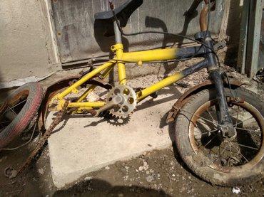 Велосипед детский. надо собрать починить а так ездила в Кок-Ой