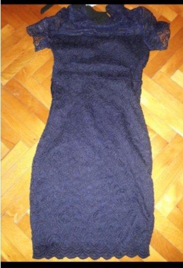 Nova orsay haljina 34 vel. Odgovara s vel. Sa etiketom. Tamno teget. - Bor