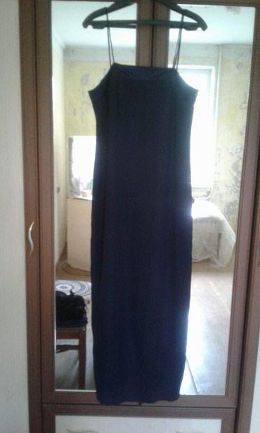 Вечернее платье с открытой спиной размер 46-48 в Бишкек