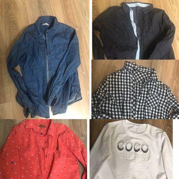 Рубашки и блузы - Кыргызстан: Продаются рубашки отличного качества! Х/б. Не линяет, не высвечивается