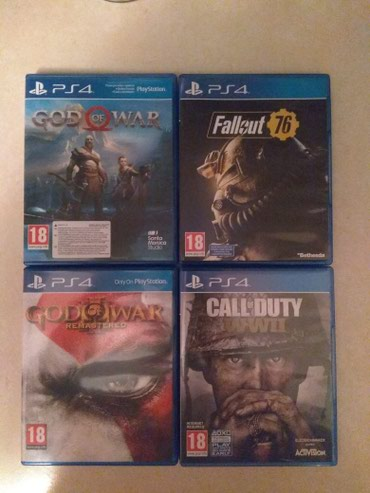 Ps4 games, πωλούνται τα παρακάτω games σε σε Kamatero