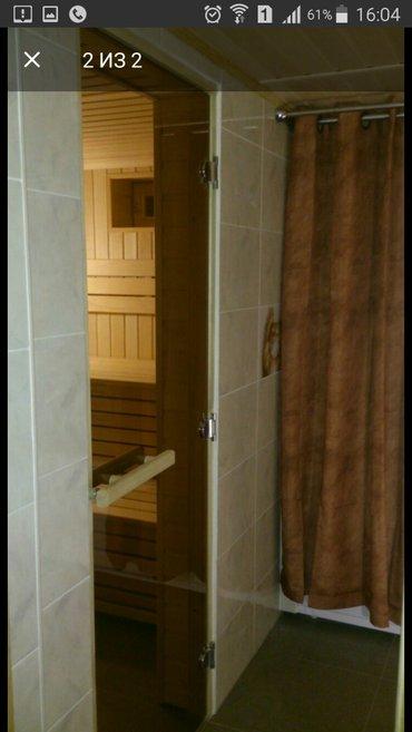 Российские двери из стекла для сауны DoorWood. Цена снижена! Отличного