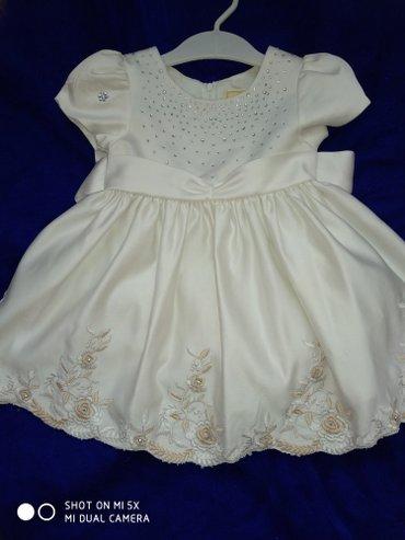Платье одевали 2 раза.Размер примерно на 1 годик в Бишкек