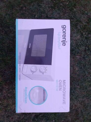 Sivac - Srbija: Gorenje mikrotalasnaDostupna je u beloj i sivoj boji.Po ceni od 8600