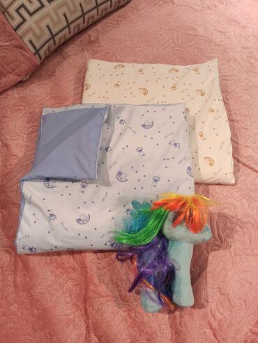 набор для новорожденных в Кыргызстан: Теплые одеялки для новорожденных в двух цветах (хлопок, велюр).Цена