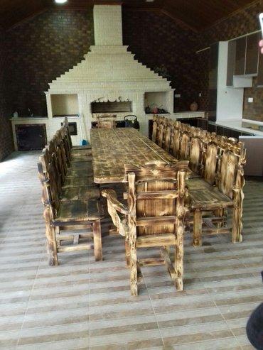 açılıb yığılan oturacaqlar kreslolar - Azərbaycan: Masa 450manat (350*90) Oturacaq 80manat (ededi) Kreslo 90manat (ededi)