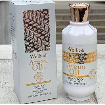 ——Wellice brendinen Arqan yagi ve vitaminlere zengin şampun