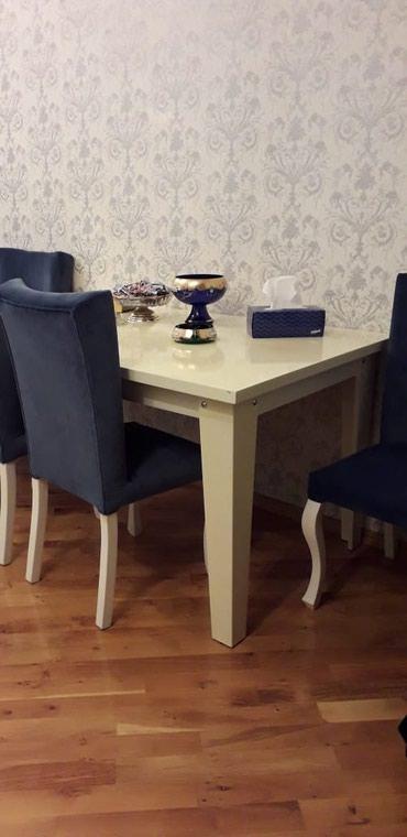 Xırdalan şəhərində Стол и 6 стульев продаются