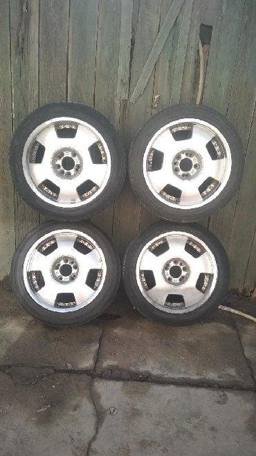 4 114 3 диски в Кыргызстан: Продаю или Меняю универсальные диски R17 на четырехдырые R16 4/114.3