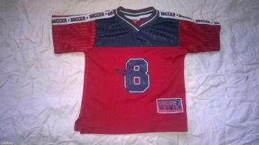 Vrlo lep  i kvalitetna majica / dres smiley  soccer vel. 98 / 104 - Prokuplje
