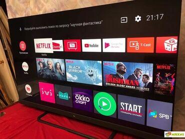 "Телевизоры - 55"" - Бишкек: TСL C8us 55дюймов, Soundbar Onkyo, Android TV"