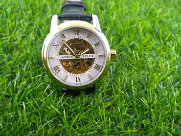 Наручные часы rolex механические, реплика очень хорошего качества с
