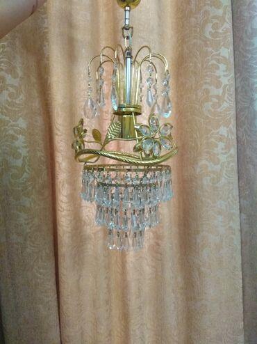 люстры для зала бишкек цены в Кыргызстан: Люстры. Чешский хрусталь. Красивые люстры в отличном состоянии