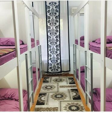 Аренда квартир - Бишкек: Хостел филармония ночь, день, сутки час, месяц, оплата с человека, ест