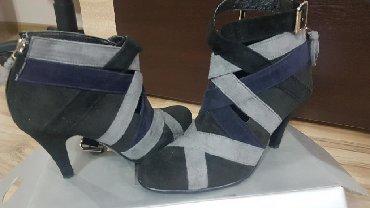 Cipele stikle visina - Srbija: Prelepe cipele od antilopa vel.38,obuvane samo jednom.Visina stikle 7