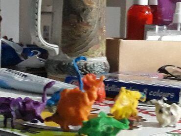Другие животные - Кыргызстан: Маленькие смешные динозавры от мастера
