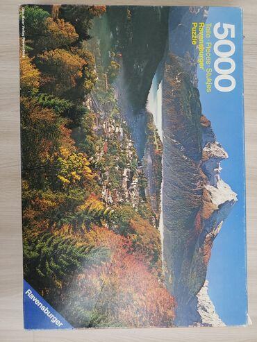 Редкий пазл на 5000 деталей 1982 года выпуска, из Германии. Б/у
